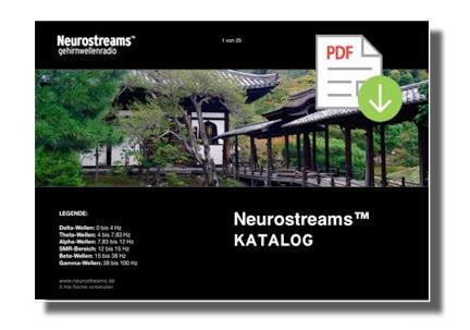 Der Neurostreams™ Katalog
